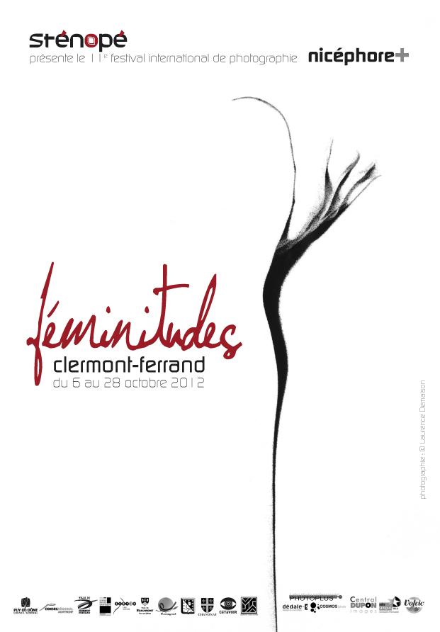 Affiche du festival Nicéphore+ 2012 à Clermont-Ferrand