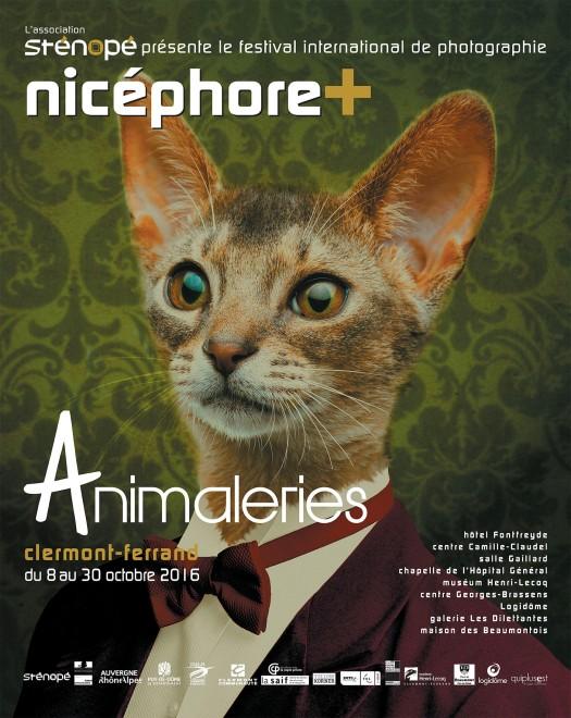 Affiche du festival Nicéphore+ 2016 à Clermont-Ferrand