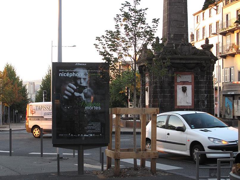 Affiche du festival Nicéphore+ 2014 à Clermont-Ferrand