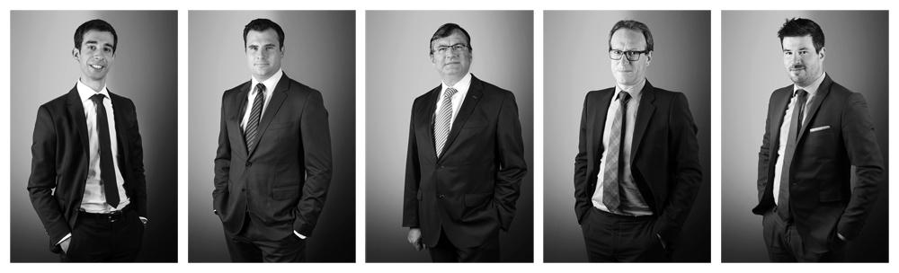 Portraits noir et blanc