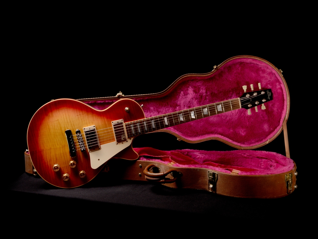 Sonic Red guitare vintage Gibson